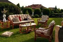 Садовая мебель, декор